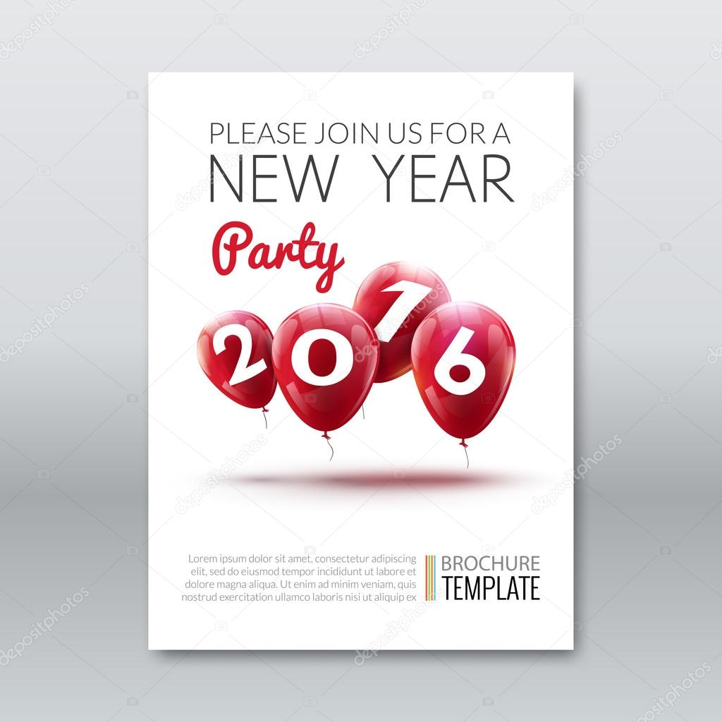 Template invitation new year holiday holiday card dedicated to the template invitation new year holiday holiday card dedicated to the christmas and new year 2016 stopboris Gallery
