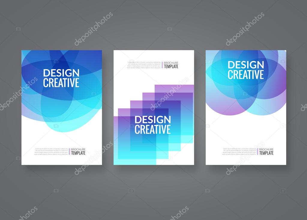 Set of vector poster templates abstract colorful background for set of vector poster templates abstract colorful background for business flyers posters and placards accmission Choice Image