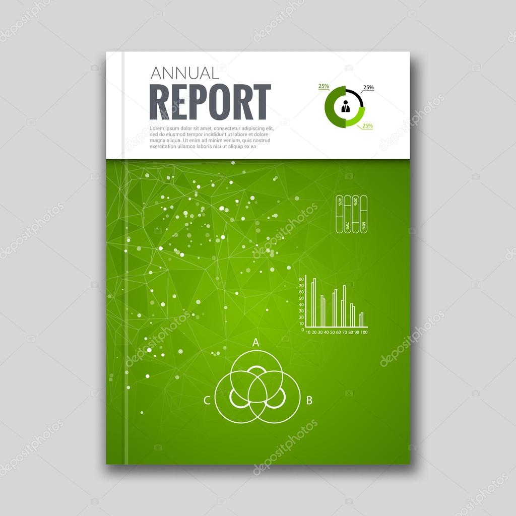 Cover report business colorful green triangle polygonal geometric cover report business colorful green triangle polygonal geometric pattern design background with diagram graph cover magazine brochure book cover ccuart Gallery