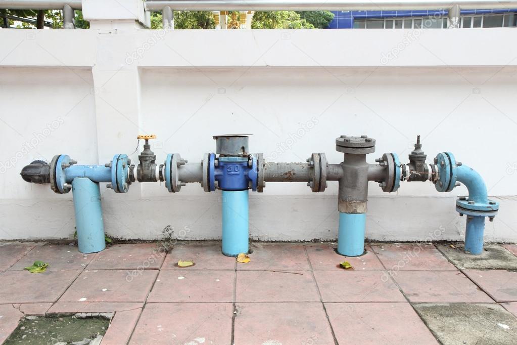 Main faucet of water — Stock Photo © rukawajung #88751138