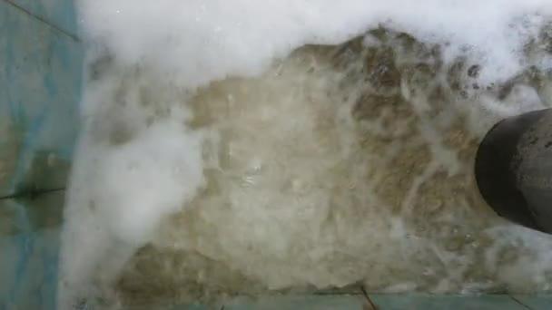 Kläranlage, Wasserabfluss