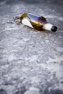 Alcohol, conceptual shot