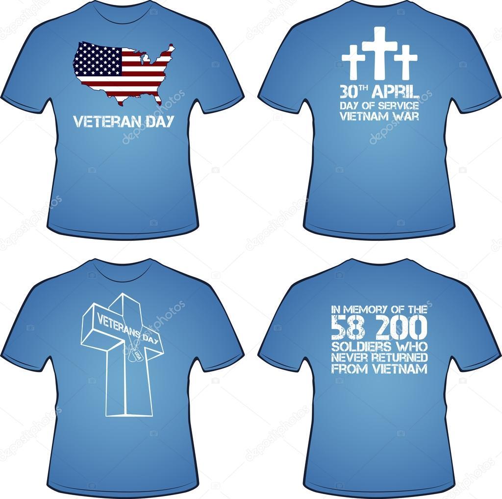 Graphic T Shirt Design Vietnam War Stock Vector Dimaoris