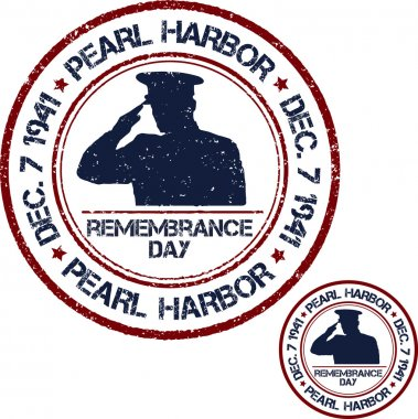 Pearl Harbor. Remembrance day