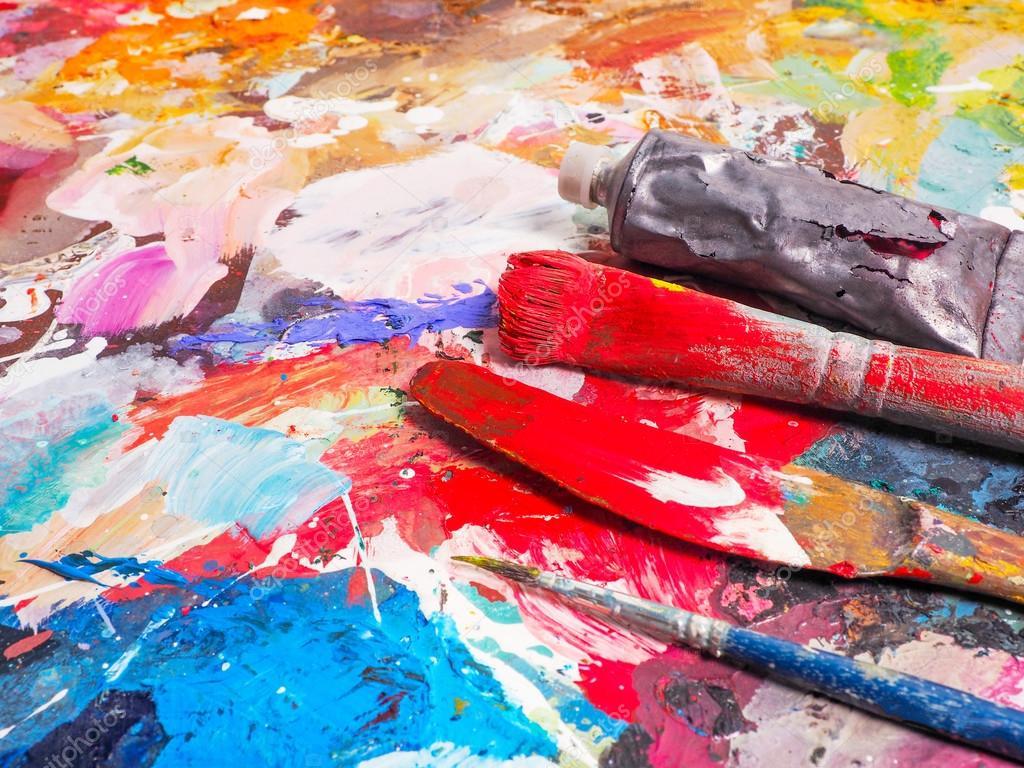 картинки масляные краски и холст желаем марии