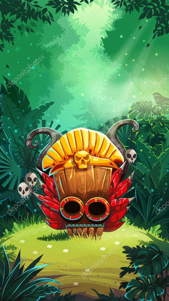 Jungle shamans mobile GUI main window