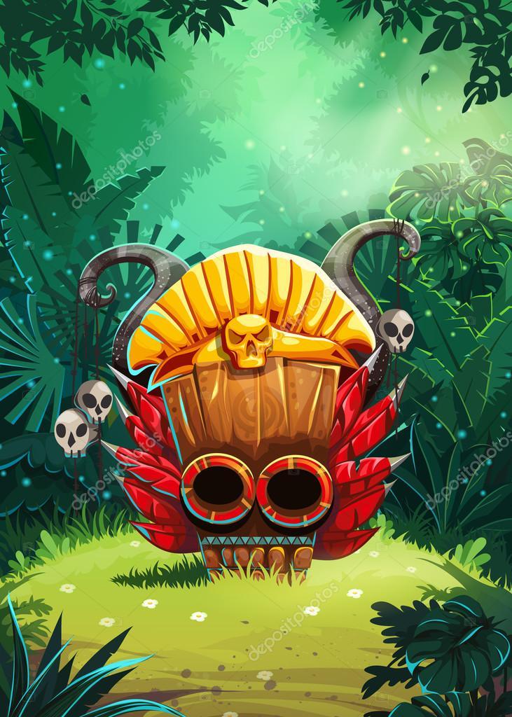 Jungle shamans backgroung