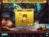 Příklad uživatelského rozhraní pro počítačové hry pokladem. Okno příjmu ocenění