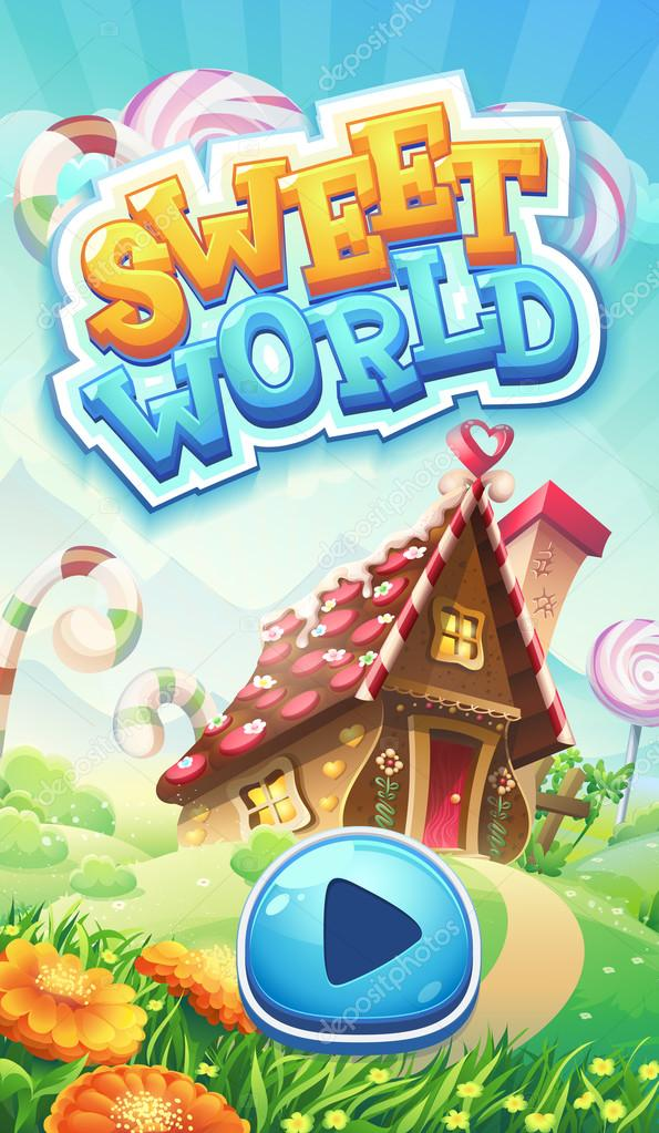 Sweet world mobile GUI pack loading screen