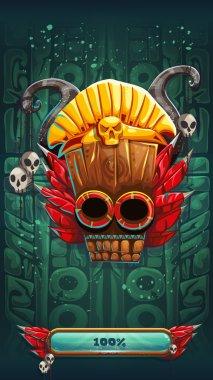 Jungle shamans mobile GUI game rune background loading screen