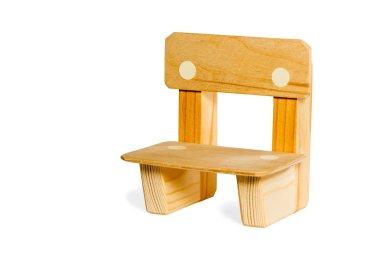 Simple wooden kid chair