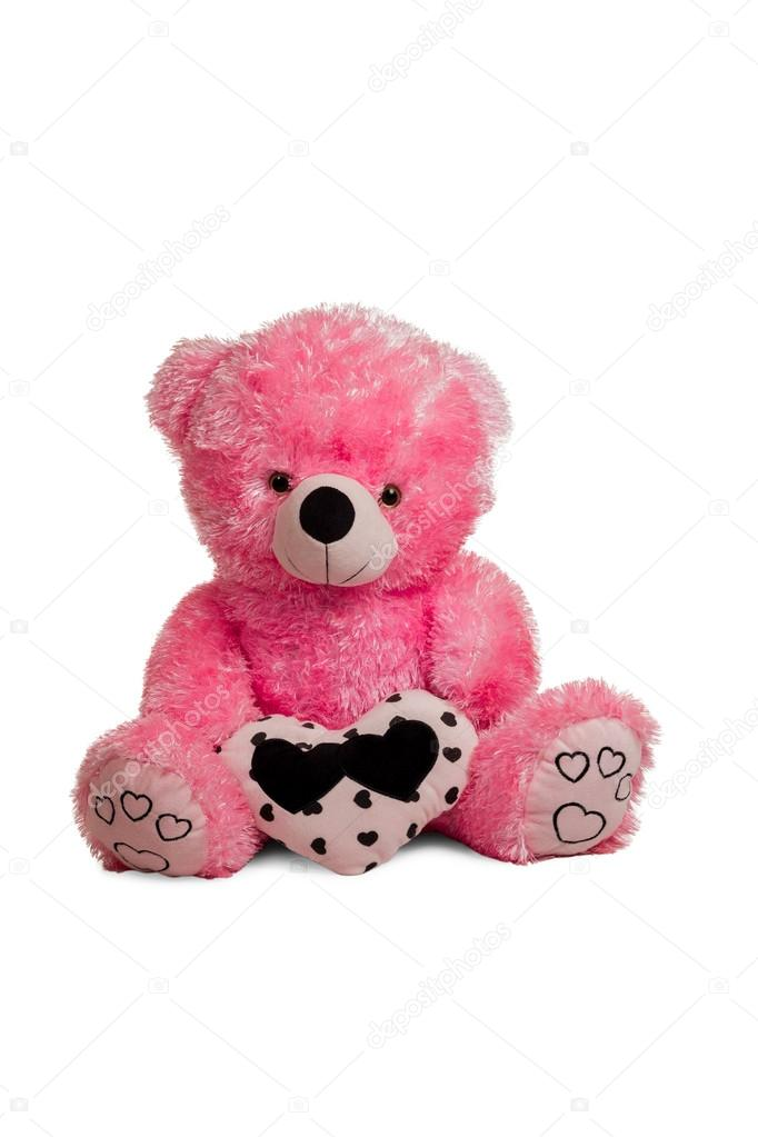 gros ours en peluche rose photographie grashalex 60274715. Black Bedroom Furniture Sets. Home Design Ideas