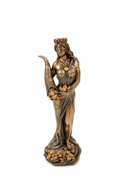 Greek goddess of fortune