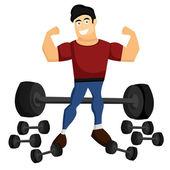 Ragazzo di fitness