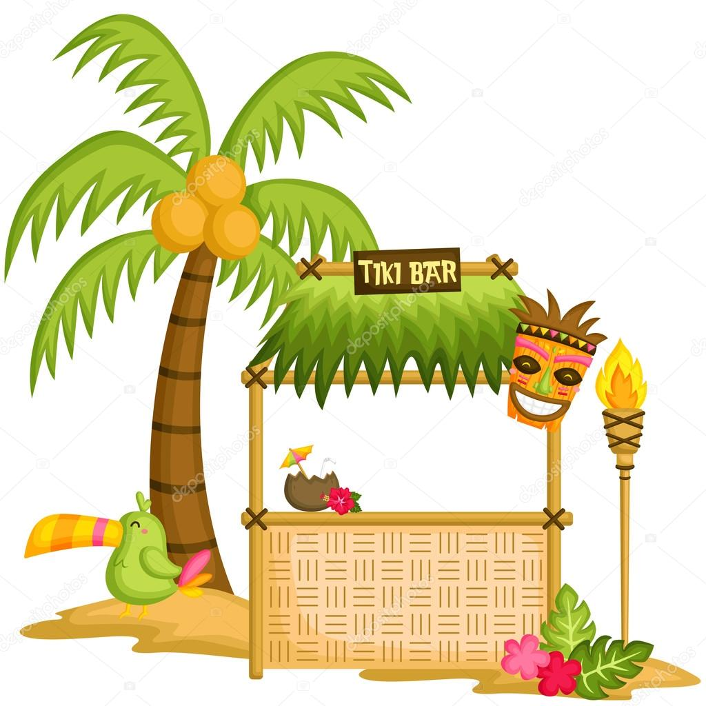 tiki bar stock vector  u00a9 comodo777 77822412 Island Hut Clip Art tiki hut clipart