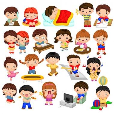Kids everyday activity