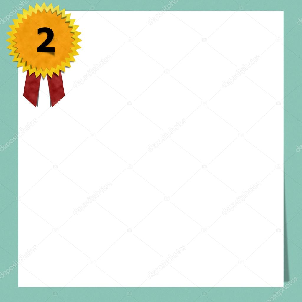 Blank Certificate Paper Stock Photo Awaygy 52714583