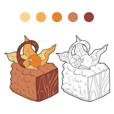 Coloring book (cake)