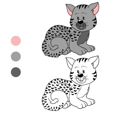 Coloring book (cat)