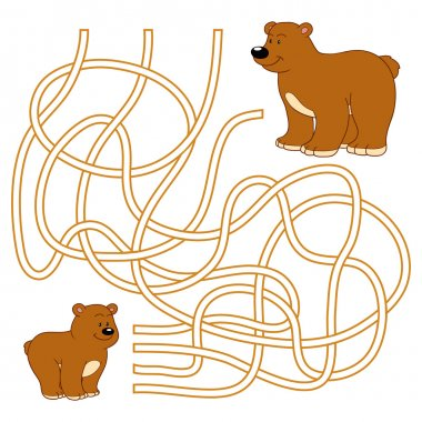 Maze game (bears)