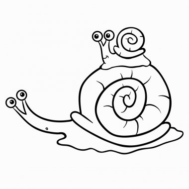 Coloring book (snails)