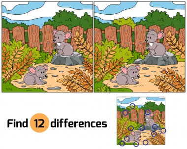Find differences (mice)