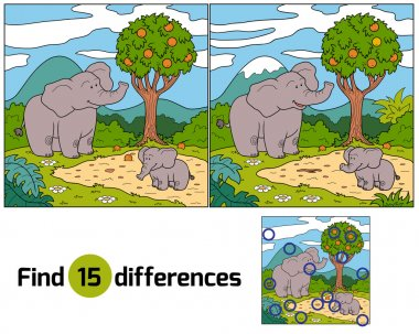 Find differences (elephant)