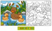 Fotografie Coloring book (duck)