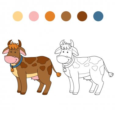 Coloring book (cow)