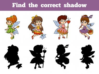 Find the correct shadow (little fairy)