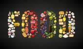 Composizione di elementi degli alimenti