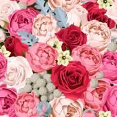 Wedding flowers seamless