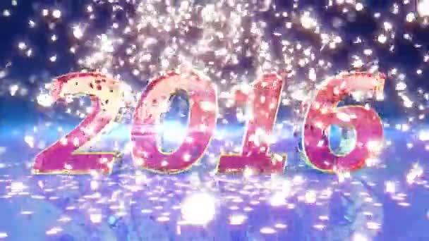 Nový rok 2016 animace