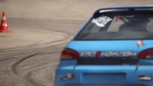 Drift zkušební závodní auto