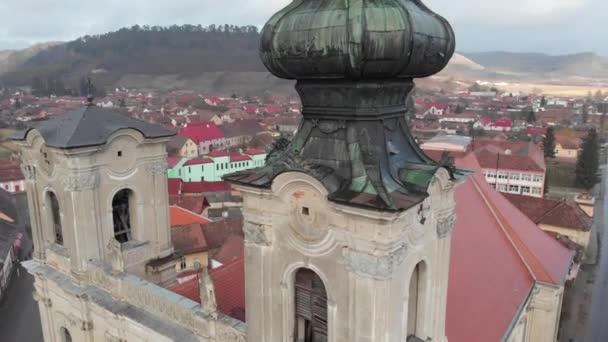 Baroque armenian church build in 18th century in Dumbraveni, Sibiu county, Transylvania.