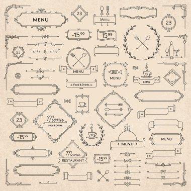 menu elements