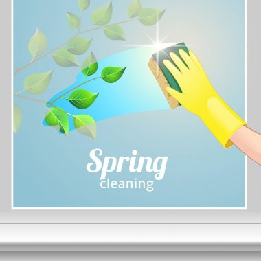 Concept background for cleaning service.