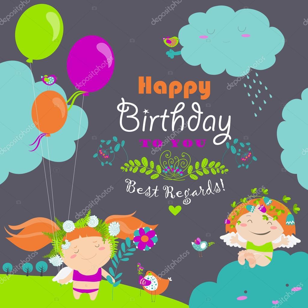 cartolina di compleanno