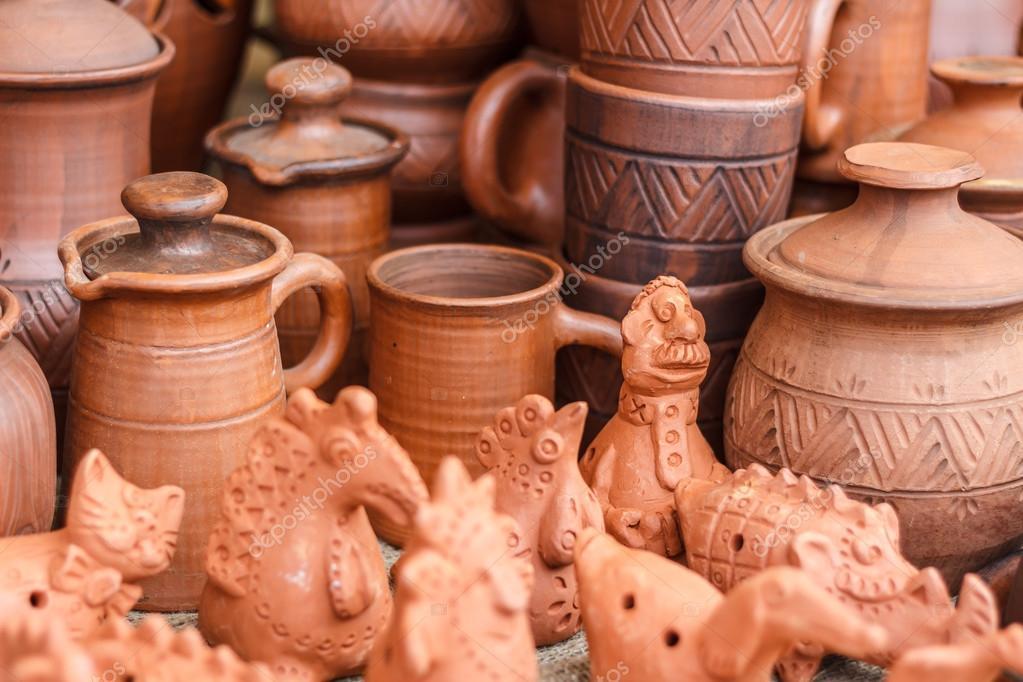 Imágenes Artesanias De Barro Artesanías Hechas De Arcilla Foto