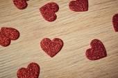 valentinky den červené srdce