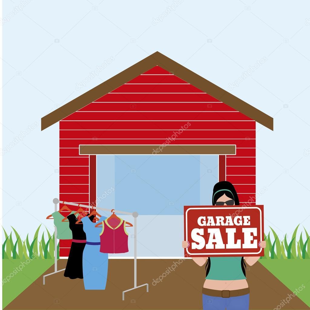 venta garage vector de stock laudiseno 78555594. Black Bedroom Furniture Sets. Home Design Ideas