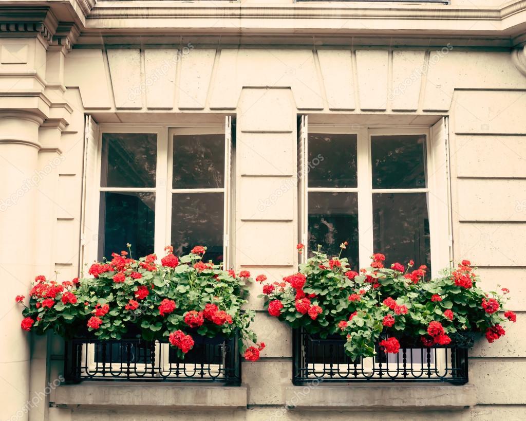 Flowers in a balcony