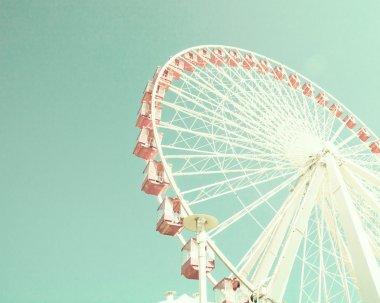 Vintage pastel Ferris Wheel