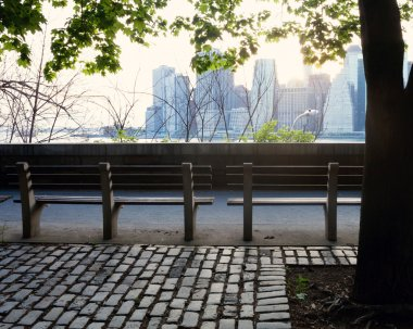 Brooklyn heights benches