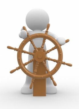 People icon at helm