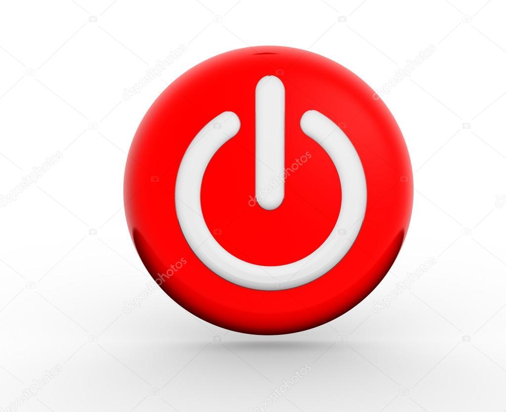 Icono del bot n de encendido fotos de stock orlaimagen for Icono boton