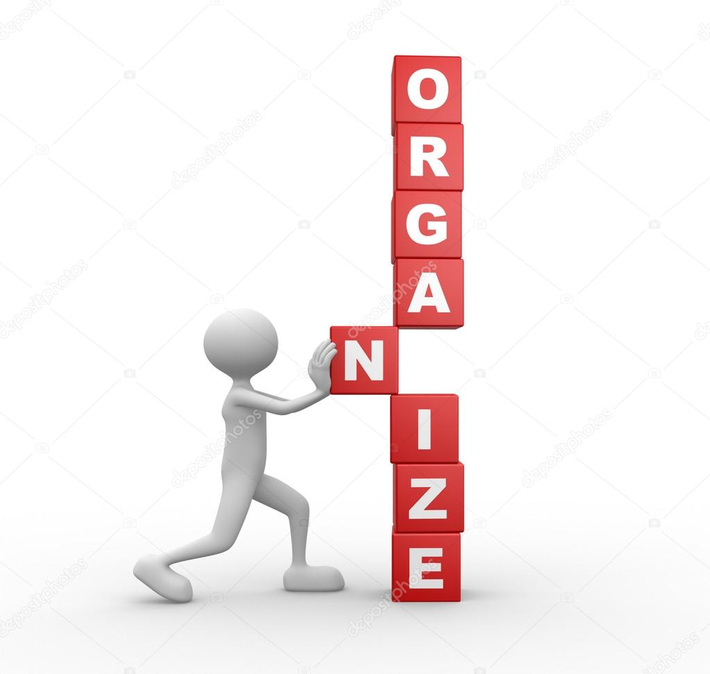 Image result for organize person