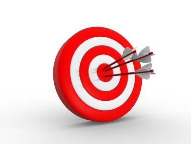 render target and arrows