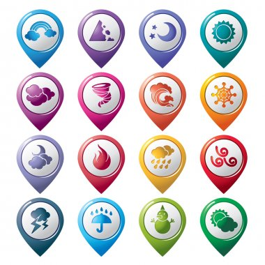 Weather Pointer Icons