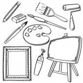 Fotografie Zeichnung Tools-Sammlung
